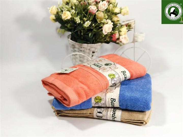 Bộ khăn tắm sợi tre cao cấp - Qua tặng 20 tháng 10