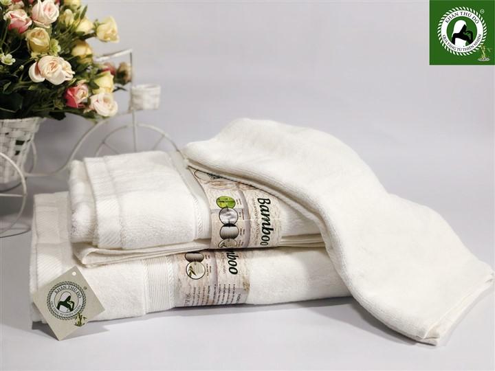 Bộ khăn tắm sợi tre Suka 124