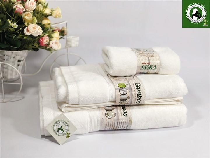 Bộ khăn tắm sợi tre 125