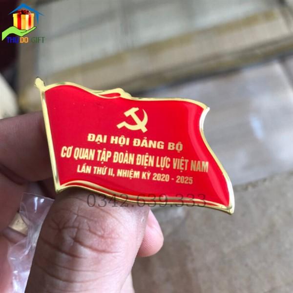 Huy hiệu đại hội cơ quan tập đoàn điện lực VIệt Nam