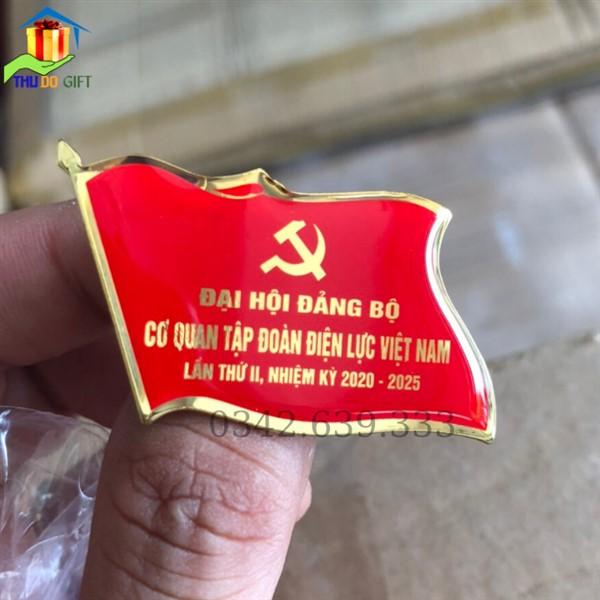 Huy hiệu đại hội cơ quan tập đoàn điện lực VIệt Nam (2)