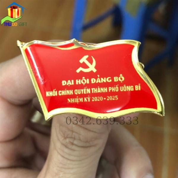 Phù hiệu đại hội thành phố Uông Bí