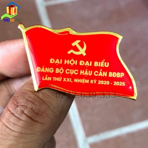 Phù hiệu đại biểu Đảng bộ cục hậu cần BĐBP