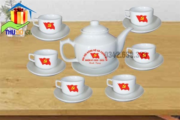 Bộ ấm trà Vuông Hongkong