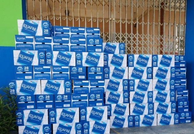 NPP Pepsi Phúc Đức & quản lý bán hàng ủng hộ nước lọc Aquafinal