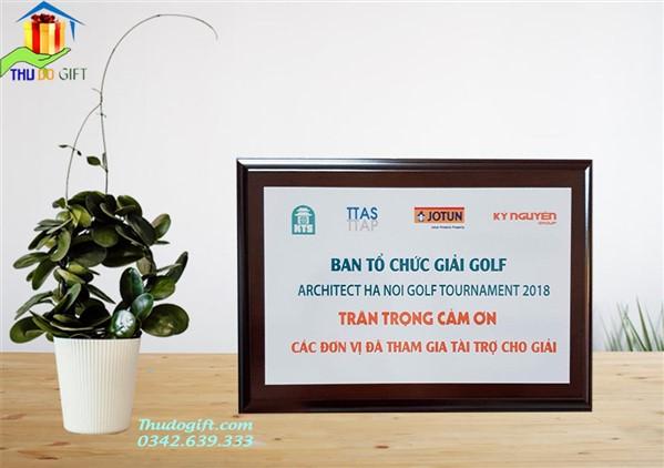 Bảng vinh danh giải Golf in Offset