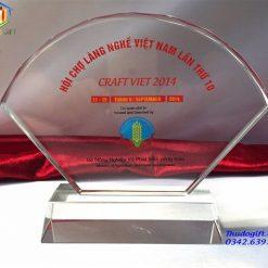 Kỷ niệm chương hội trợ làng nghề Việt Nam lần thứ 10