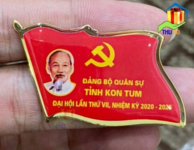 Huy hiệu đảng bộ quân sự Tỉnh Kon Tum