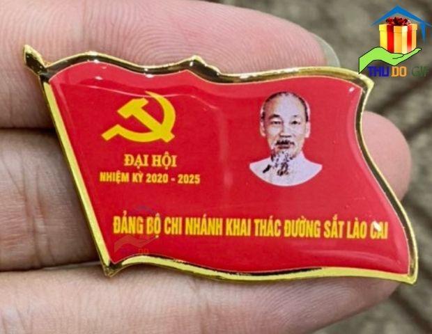 Phù hiệu đảng bộ chi nhánh khai thác đường sắt Lào Cai