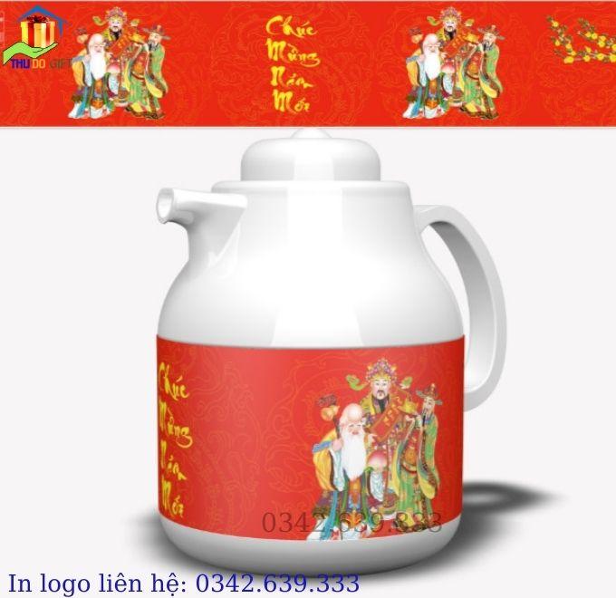 Phích tết pha trà 1 lít năm 2021 - RD 1055 TS