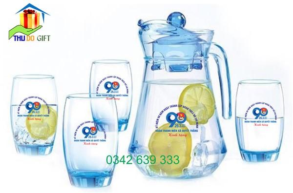 Bộ bình 4 cốc thủy tinh LumiaArc