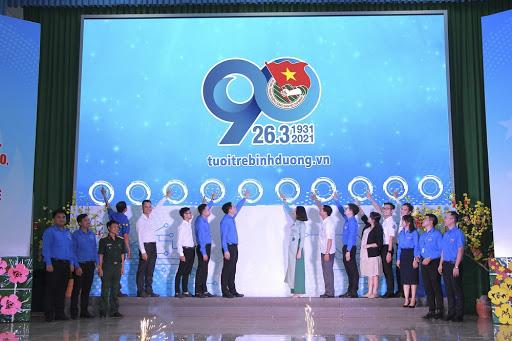 Hình ảnh phát động thi đua cao điểm chào mừng kỷ niệm 90 năm thành lập đoàn TNCSHCM