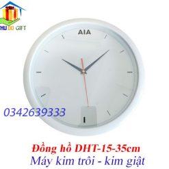 Đồng hồ tròn treo tường in logo