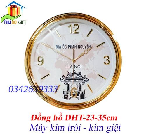 Đồng hồ hình tròn in logo theo yêu cầu
