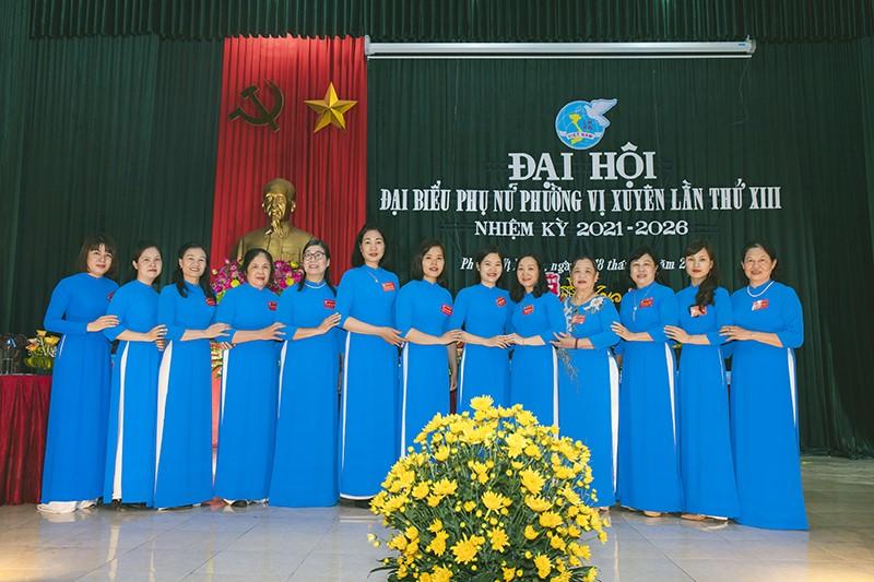 Đại hội đại biểu Phụ Nữ phường Vị Xuyên lần thứ XIII