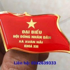 Phù hiệu đại hội đại biểu xã Xuân Hải