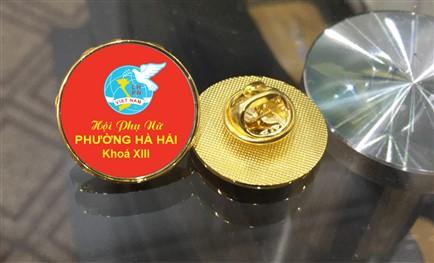 Phù hiệu đại hội hội phụ nữ Việt Nam (Ảnh minh hoạ)