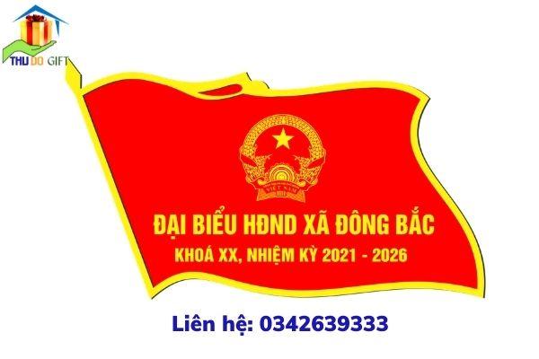 Phù hiệu HĐND xã Đông Bắc