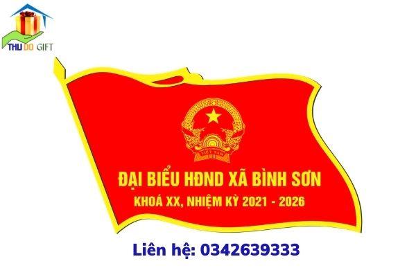 Phù hiệu HĐND xã Bình Sơn