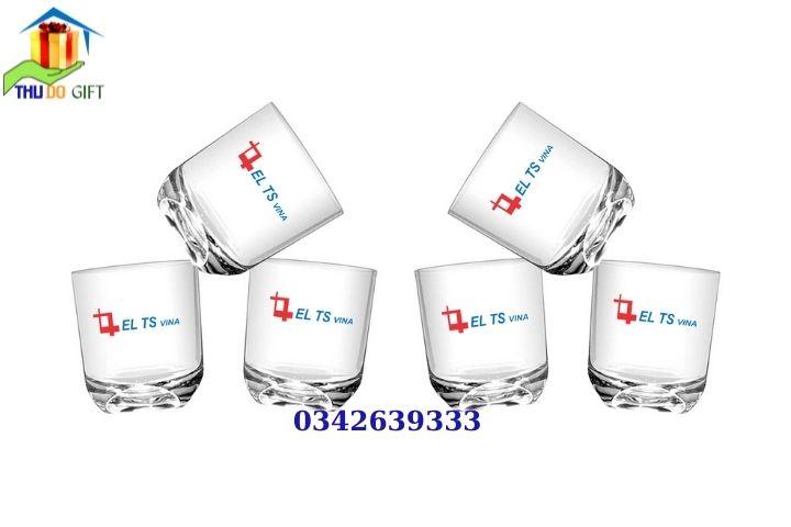 Bộ cốc thuỷ tinh Thailand in logo